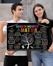 Math Poster - Growth Mindset 24x16 Poster poster-landscape-24x16-lifestyle-21