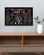 Math Poster - Growth Mindset 24x16 Poster poster-landscape-24x16-lifestyle-25