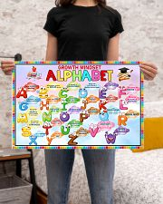 Classroom Poster - Growth Mindset Alphabet  24x16 Poster poster-landscape-24x16-lifestyle-20