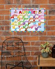 Classroom Poster - Growth Mindset Alphabet  24x16 Poster poster-landscape-24x16-lifestyle-24