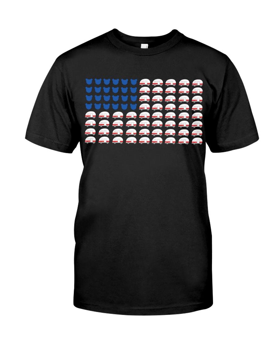 Camping Flat Classic T-Shirt