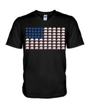 Camping Flat V-Neck T-Shirt thumbnail