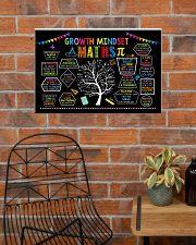 Maths Poster - Growth Mindset 24x16 Poster poster-landscape-24x16-lifestyle-24