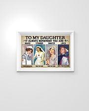 Nurse Daughter - Braver - Stronger 24x16 Poster poster-landscape-24x16-lifestyle-02