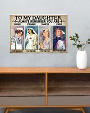 Nurse Daughter - Braver - Stronger 24x16 Poster poster-landscape-24x16-lifestyle-25