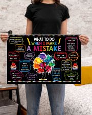 Classroom Poster - When I Make  A Mistake  24x16 Poster poster-landscape-24x16-lifestyle-20