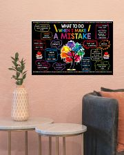 Classroom Poster - When I Make  A Mistake  24x16 Poster poster-landscape-24x16-lifestyle-22