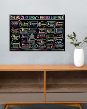 Classroom poster - The ABC's of growth mindset   24x16 Poster poster-landscape-24x16-lifestyle-25