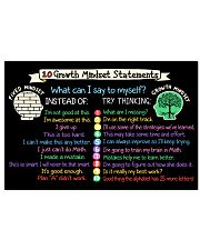 Classroom Poster - Teach Growth Mindset Poster 24x16 Poster front