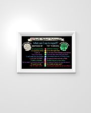 Classroom Poster - Teach Growth Mindset Poster 24x16 Poster poster-landscape-24x16-lifestyle-02