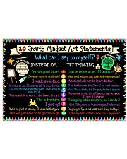 Art - Growth Mindset  24x16 Poster front