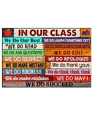 Classroom Poster - We Do Succeed 24x16 Poster front