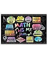Math Poster - Math Is My Jam - Song  24x16 Poster front