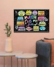 Math Poster - Math Is My Jam - Song  24x16 Poster poster-landscape-24x16-lifestyle-22