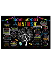 Maths Poster - Growth Mindset  24x16 Poster front