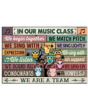Music Poster - In Our Music Class  24x16 Poster front