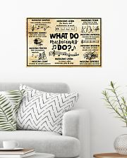 Music - What do Musicians do 24x16 Poster poster-landscape-24x16-lifestyle-01