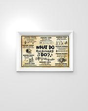 Music - What do Musicians do 24x16 Poster poster-landscape-24x16-lifestyle-02