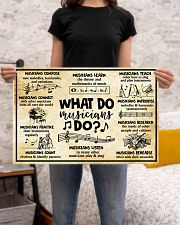 Music - What do Musicians do 24x16 Poster poster-landscape-24x16-lifestyle-20