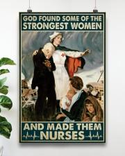 Nurse - God Found Some Of Strongest Women 16x24 Poster aos-poster-portrait-16x24-lifestyle-17