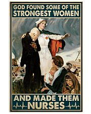Nurse - God Found Some Of Strongest Women 16x24 Poster front