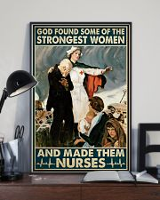 Nurse - God Found Some Of Strongest Women 16x24 Poster lifestyle-poster-2