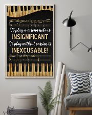Music - Piano - Play a wrong note is insignificant 16x24 Poster lifestyle-poster-1