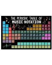 Music Poster - Periodic Table Of Music Notation 24x16 Poster front