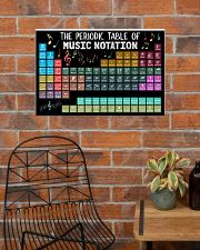 Music Poster - Periodic Table Of Music Notation 24x16 Poster poster-landscape-24x16-lifestyle-24