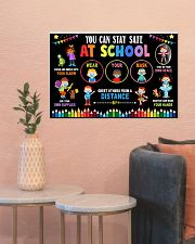Classroom Poster - Stay Safe At School 24x16 Poster poster-landscape-24x16-lifestyle-22