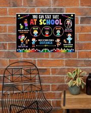 Classroom Poster - Stay Safe At School 24x16 Poster poster-landscape-24x16-lifestyle-24