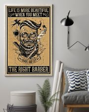 Barber Poster - Life is more beautiful 11x17 Poster lifestyle-poster-1