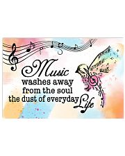 Teacher Poster - Music Washes Way From The Soul 24x16 Poster front