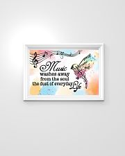 Teacher Poster - Music Washes Way From The Soul 24x16 Poster poster-landscape-24x16-lifestyle-02