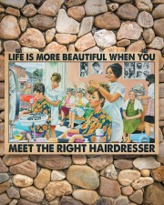 Hairdresser - Life is more beautiful 24x16 Poster aos-poster-landscape-24x16-lifestyle-16