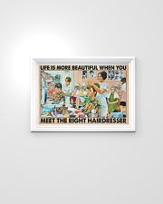 Hairdresser - Life is more beautiful 24x16 Poster poster-landscape-24x16-lifestyle-02