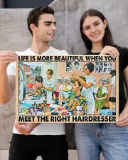 Hairdresser - Life is more beautiful 24x16 Poster poster-landscape-24x16-lifestyle-21