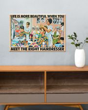 Hairdresser - Life is more beautiful 24x16 Poster poster-landscape-24x16-lifestyle-25