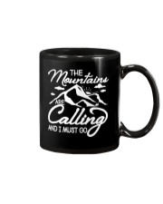 THE MOUNTAINS ARE CALLING AND I MUST GO Mug thumbnail