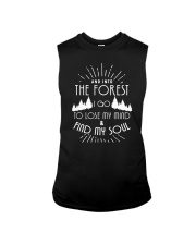 AND INTO THE FOREST I GO TO LOSE MY MIND AND FIND SOUL Sleeveless Tee thumbnail