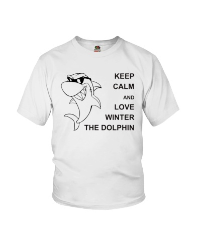 Keep Calm and Love Winter the Dolphin