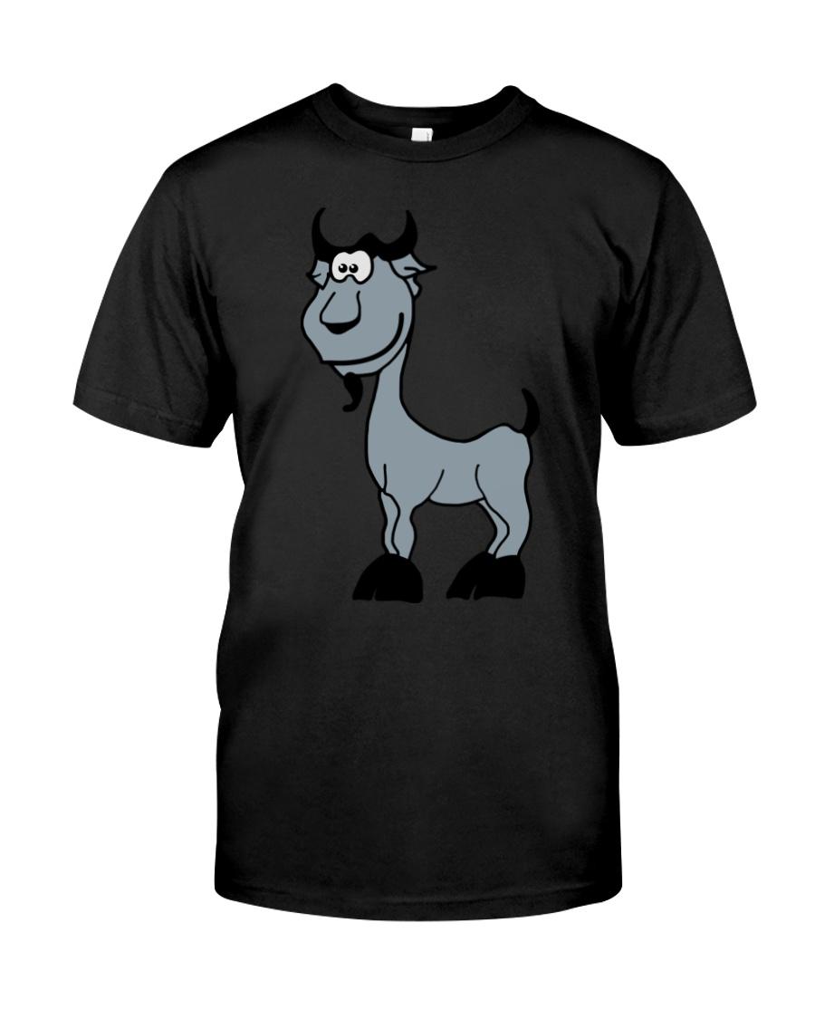 Goat Capricorn Zodiac Animal Comic Classic T-Shirt