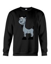 Goat Capricorn Zodiac Animal Comic Crewneck Sweatshirt thumbnail