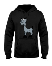 Goat Capricorn Zodiac Animal Comic Hooded Sweatshirt thumbnail