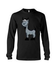 Goat Capricorn Zodiac Animal Comic Long Sleeve Tee thumbnail