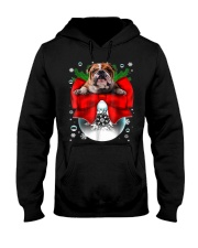English Bulldog Christmas T Shirt Funny Gifts For  Hooded Sweatshirt thumbnail