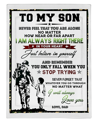 To My Son- Love-Dad