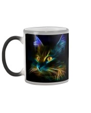 Mysterious Fluorescent Cat Color Changing Mug color-changing-left
