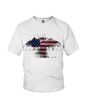 USA Independence Day USA Flag Eagle Patriot Youth T-Shirt thumbnail