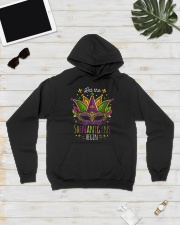 Mardi Gras Let The Shenanigans Begin T-shirt Hooded Sweatshirt lifestyle-unisex-hoodie-front-8